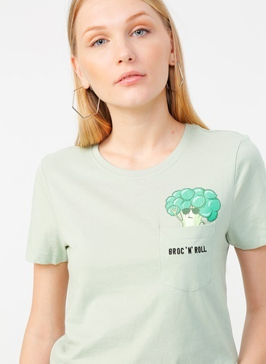 Only Tişört Yeşil